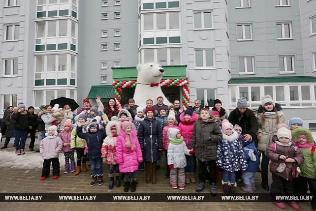 Ключи от квартир получили более 70 многодетных семей Заводского района Минска