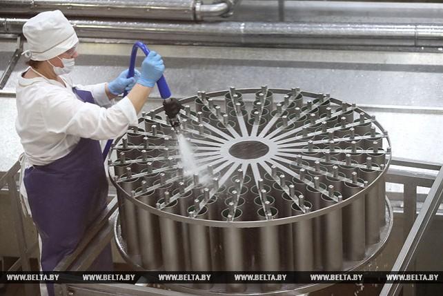 Туровский молочный комбинат запустил новые линии по производству полутвердых и мягких сыров