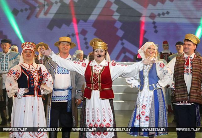 В Витебске прошли торжества, посвященные 80-летию области