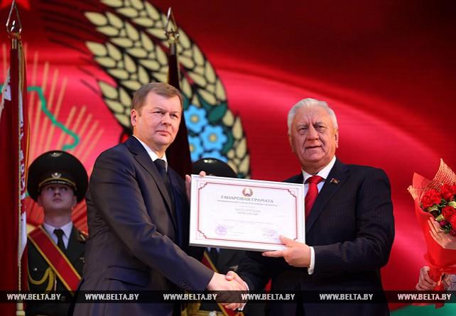 Мясникович принял участие в торжественном мероприятии, посвященном 80-летию Могилевской области
