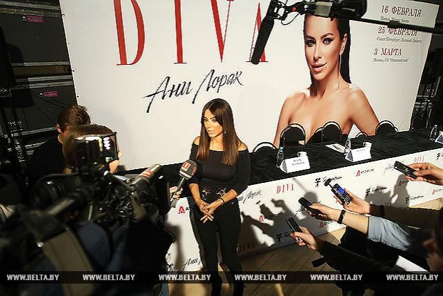Пресс-конференция Ани Лорак в преддверии премьеры шоу DIVA состоялась в Минске