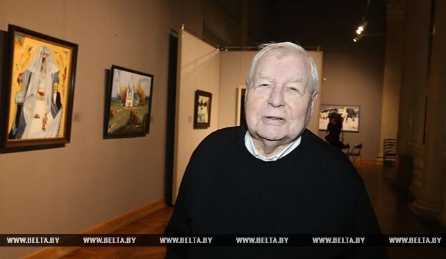 Юбилейная выставка Леонида Щемелева открылась в Национальном художественном музее