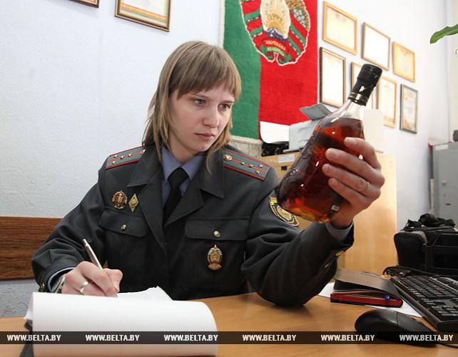 Немаркированный элитный алкоголь на Br7 тыс. изъяли в Витебске