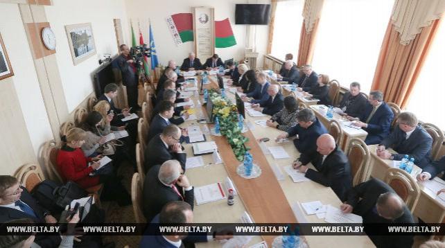 Совместное заседание Совета по взаимодействию органов местного самоуправления при Совете Республики и правления Белкоопсоюза