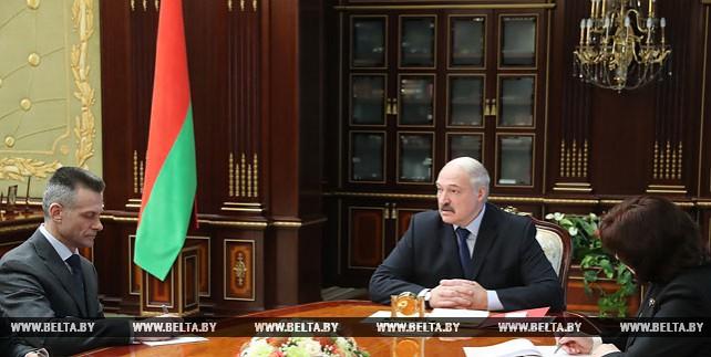 Лукашенко назначил Николая Латышенка помощником по общим вопросам