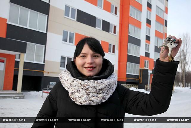Ключи от социальных квартир в новостройке вручили в Витебске