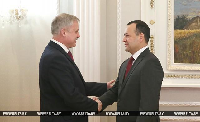 Зась встретился с министром по чрезвычайным ситуациям Узбекистана