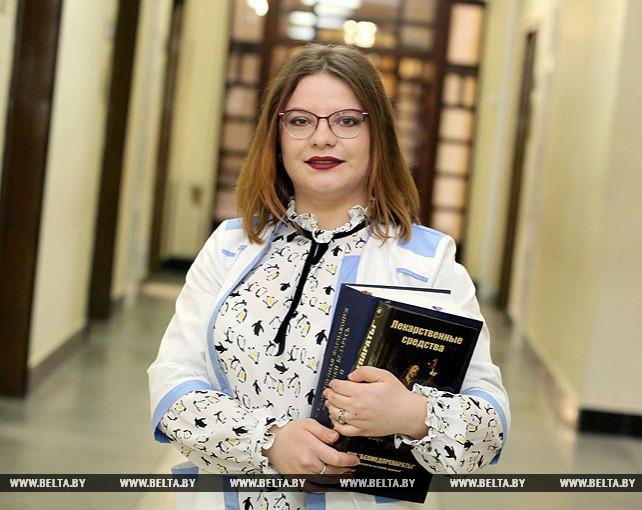Надежда Михайлова - стипендиат Президентского фонда