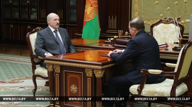 Лукашенко встретился с Управляющим делами Президента Виктором Шейманом