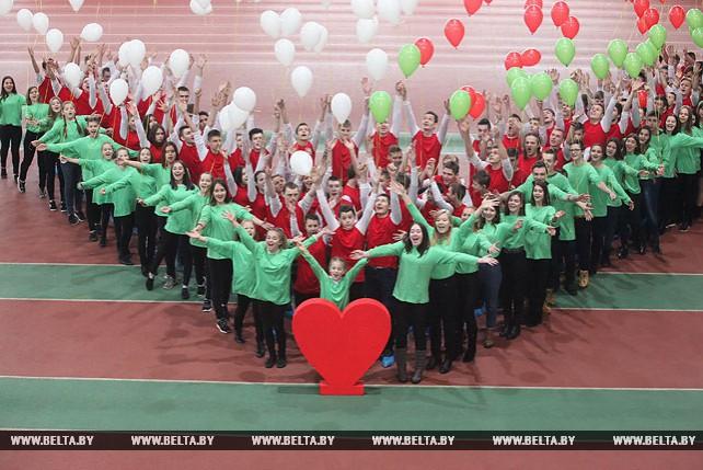 Гомельские активисты БРСМ провели акцию к выборам в местные Советы депутатов