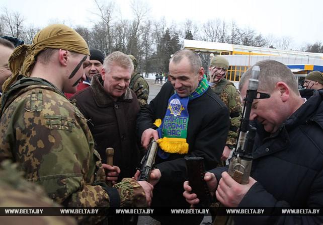 Межрегиональная встреча воинов-интернационалистов прошла в Шклове