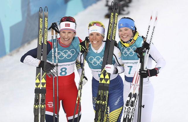 Шведка Шарлотта Калла стала первой чемпионкой зимних Олимпийских игр в Пхенчхане