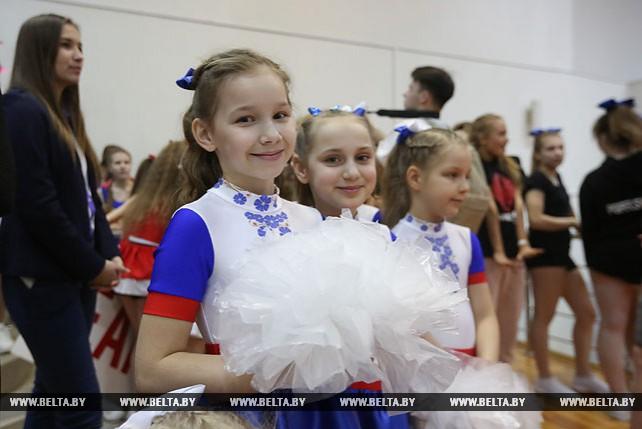 В Минске прошли соревнования по чирлидингу