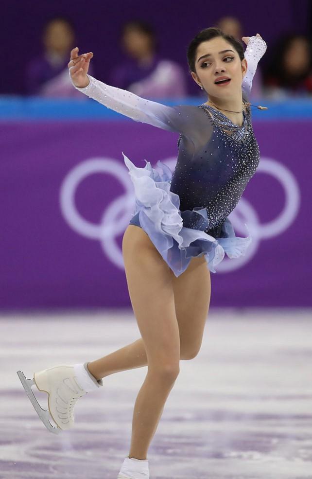 Российская фигуристка установила мировой рекорд на Олимпиаде в Пхенчхане