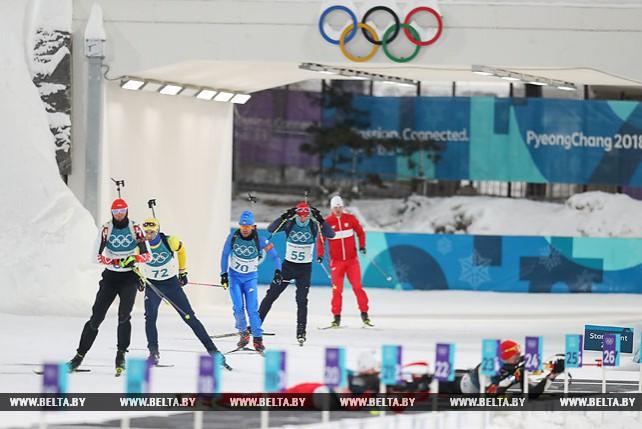 Немецкий биатлонист Арнд Пайффер стал победителем спринта на Олимпиаде-2018