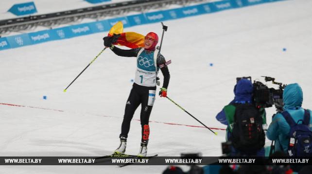 Немка Лаура Дальмайер победила в гонке преследования ОИ-2018