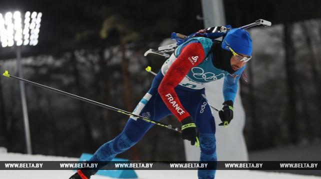 Французский биатлонист Мартен Фуркад выиграл гонку преследования ОИ, белорусы далеко от пьедестала