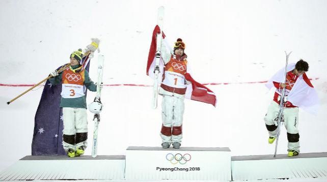 Канадец Микаэль Кингсбери выиграл золото Олимпиады в могуле