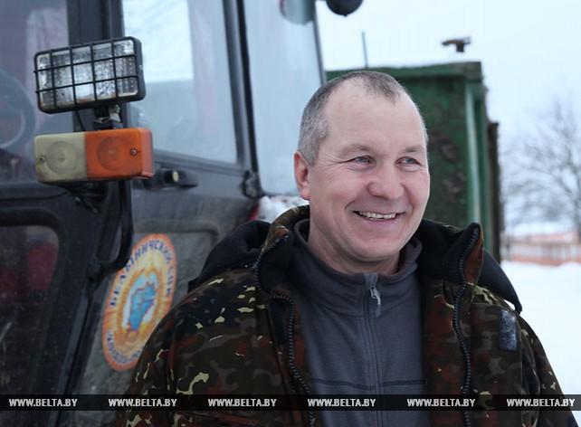 Николай Даречкин - заслуженный работник сельского хозяйства Республики Беларусь