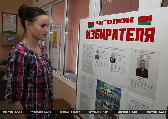 Досрочное голосование на местных выборах началось в Беларуси