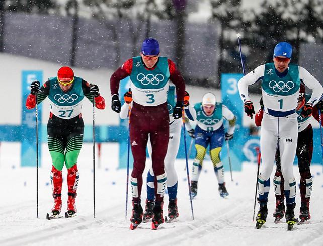 Белорусский лыжник Александр Воронов не пробился в полуфинал олимпийского спринта