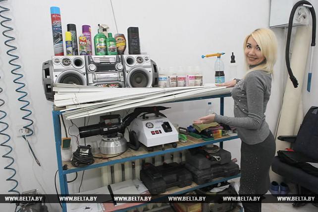 Светлана Анненко - одна из жителей Мозырского района, получивших субсидию на организацию предпринимательской деятельности