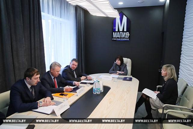 """Кочанова провела прием граждан по личным вопросам в ОАО """"МАПИД"""""""