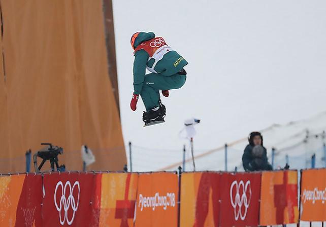 Американский сноубордист Шон Уайт стал олимпийским чемпионом в дисциплине хаф-пайп