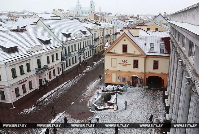 В Гродно появился панорамный лифт с видом на исторический центр