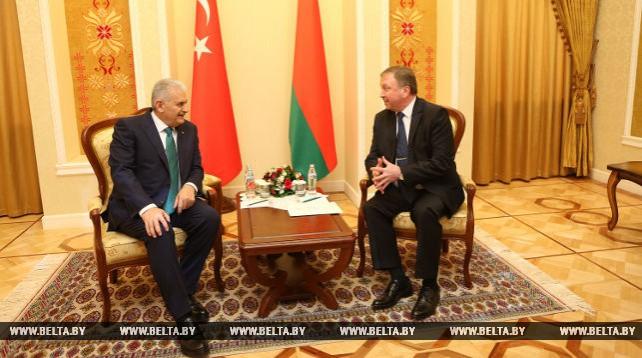 Андрей Кобяков встретился с премьер-министром Турции
