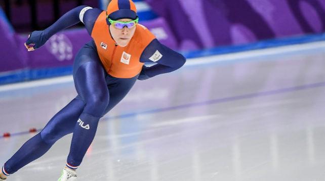 Голландская конькобежка Йорин Тер Морс выиграла олимпийские соревнования на дистанции 1000 м