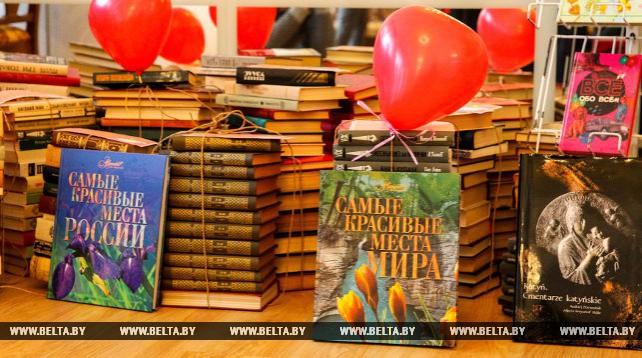 """Акция """"От сердца к сердцу"""" прошла в Брестской библиотеке им А.С.Пушкина"""