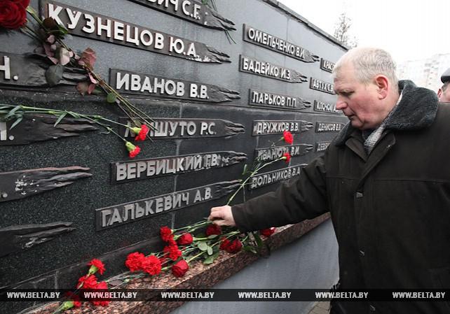 В Витебске почтили память погибших в Афганистане