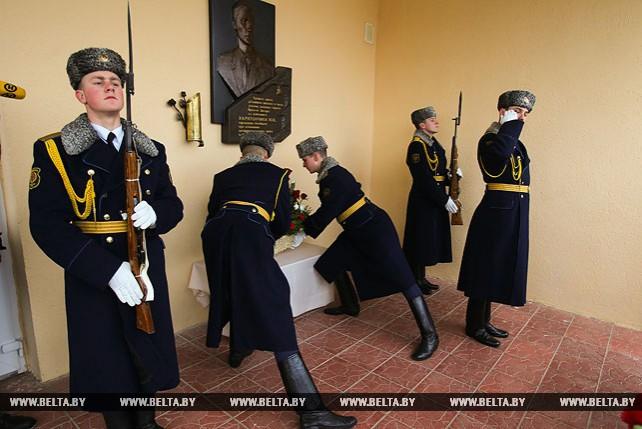 В Брестском районе открыли мемориальную доску памяти офицера-афганца Юрия Харитончика