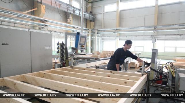 """Шкловское """"Домостроение"""" планирует поставить во Францию за пять лет 650 деревянных домов"""