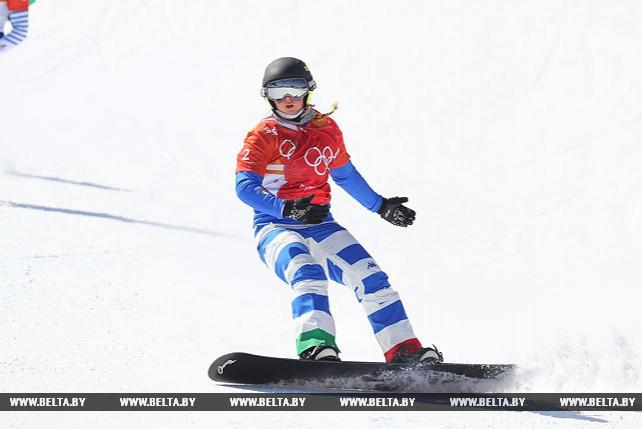 Итальянка Мойоли стала олимпийской чемпионкой в сноуборд-кроссе