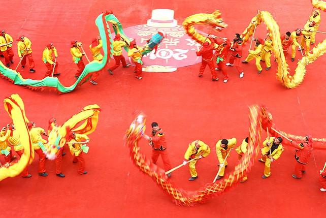 В Китае празднуют Новый год