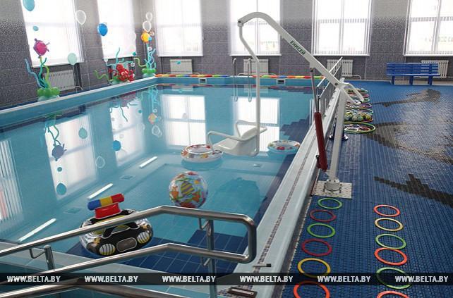 В Могилеве открыли бассейн в детском саду №117