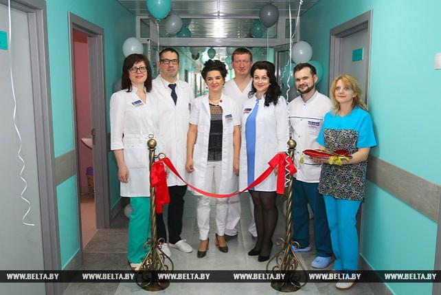 В Брестской областной больнице открылось отделение хирургии и трансплантации