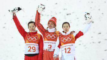 Белорусская фристайлистка Анна Гуськова стала олимпийской чемпионкой