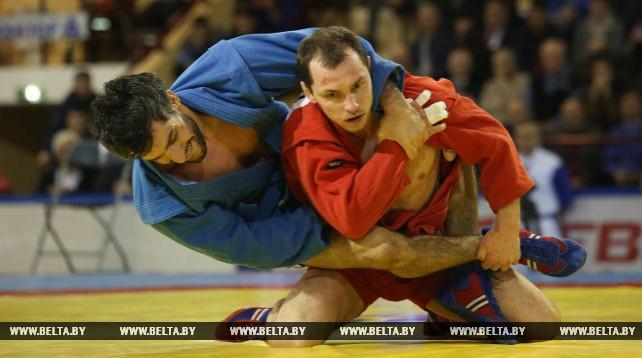 Международный турнир по самбо проходит в Минске