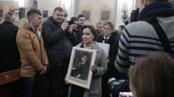 Прах Магдалены Радзивилл перезахоронили на территории минского костела на Золотой Горке