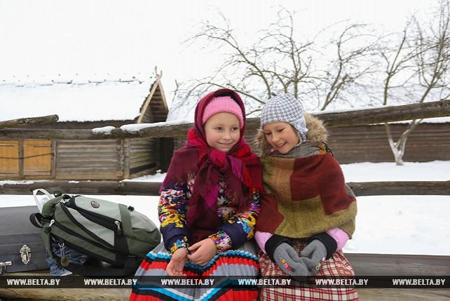 В Строчицах отпраздновали Масленицу