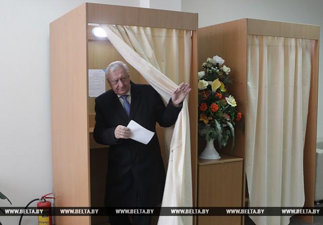 Мясникович принял участие в выборах