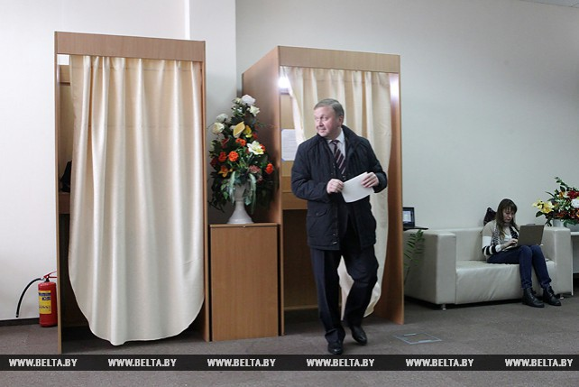 Кобяков проголосовал на выборах в местные Советы депутатов