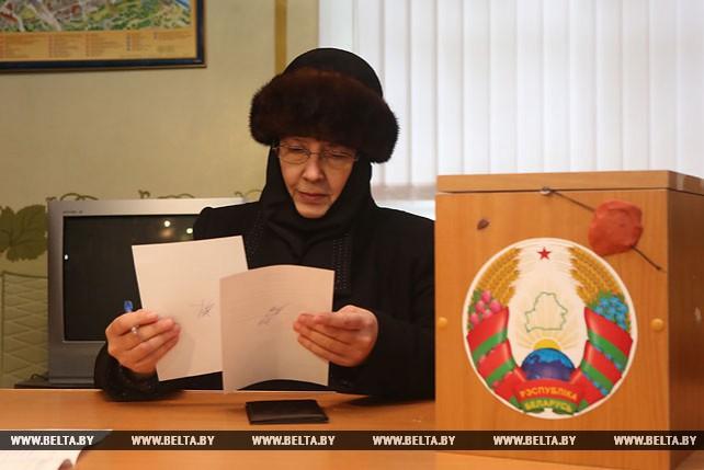 Насельницы Гродненского Свято-Рождество-Богородицкого женского монастыря приняли участие в выборах