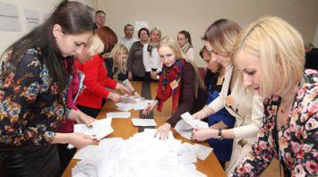 Голосование на местных выборах в Беларуси завершено