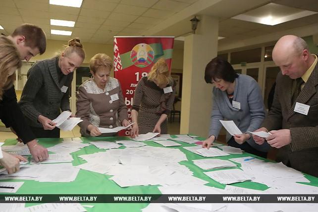 В Гродно идет подсчет голосов