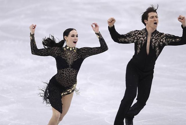 Канадские фигуристы Вирчу и Мойр лидируют после короткой программы в танцах на льду