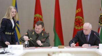 Гашение почтовой марки к 100-летию Вооруженных Сил состоялось в Минске